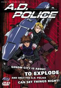 A.D. Police (1999) Cover