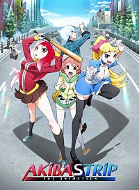 Akiba's Trip: The Animation Cover