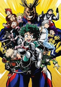 Boku no Hero Academia Cover