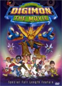 Digimon: The Movie Cover