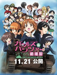 Girls und Panzer: Der Film Cover