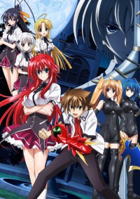 High School DxD New Specials Cover