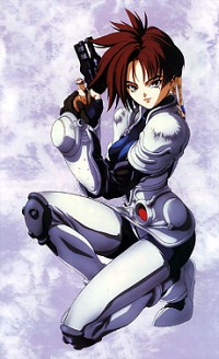 Iria: Zeiram the Animation Cover
