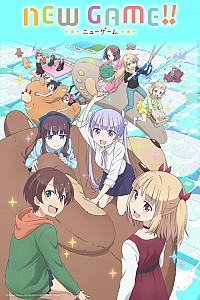 New Game!! Cover