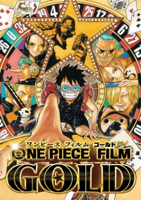One Piece Film: Gold Cover