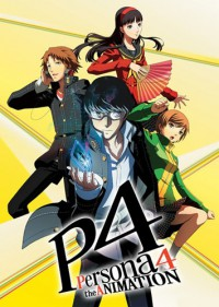 Persona 4 The Animation Cover