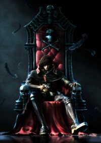 Space Pirate Captain Harlock Cover
