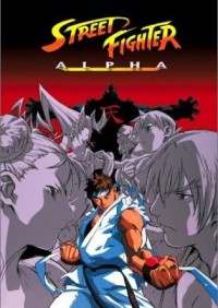 Street Fighter Zero: The Animation Cover
