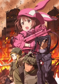 Sword Art Online Alternative: Gun Gale Online Cover