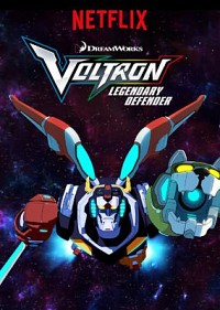 Voltron: Legendary Defender Cover