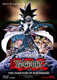 Yuu Gi Ou: The Dark Side of Dimensions Cover